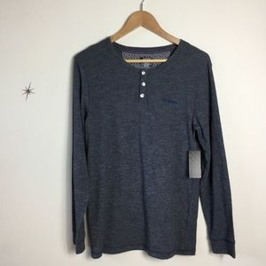 Ted Baker Long Sleeve Lounge Henley Top
